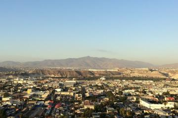 Vientos de Santa Ana en camino a Tijuana