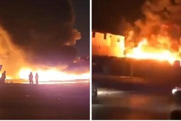 Incendio acaba con planta recicladora en Tijuana