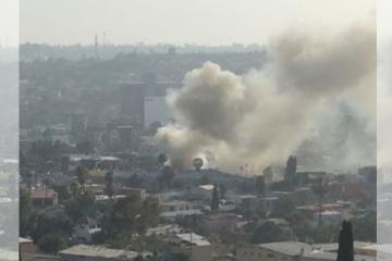 Se eleva el riesgo a incendios en Tijuana por condición Santa Ana