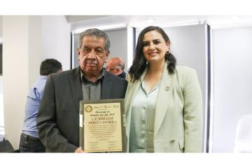 Director of Attention to Immigrants in Tijuana is recognized as...
