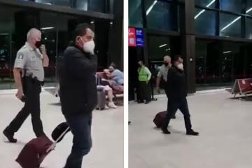 Bajan de avión a diputado que se negó a pagar equipaje extra en...