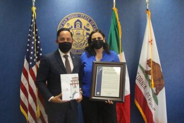"""San Diego decreta """"Día de la presidenta municipal"""" en..."""