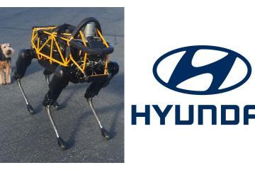 Spot, el perro robot que trabaja como seguridad en Hyundai