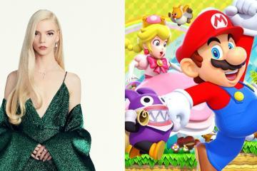 Anuncian nueva película animada de Super Mario Bros con Anya...