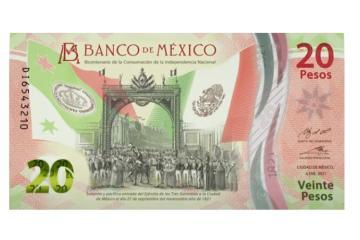 Nuevo billete de 20 pesos comienza a circular este viernes