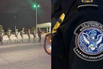 Arrestan a 14 soldados mexicanos que cruzaron a EE.UU.