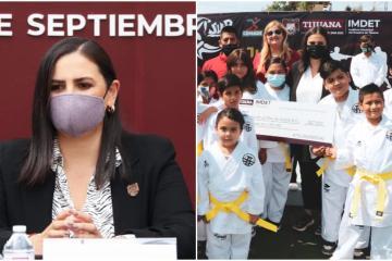 5 initiatives of Karla Ruiz as mayor to support sports in Tijuana