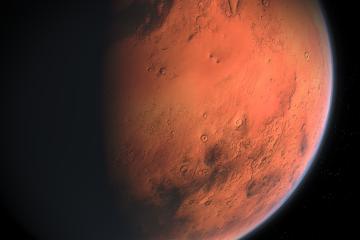 NASA registra sismo en Marte de una hora y media de duración