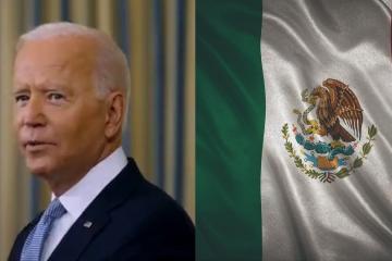 Biden manda mensaje a México por los 200 años de la Consumación...