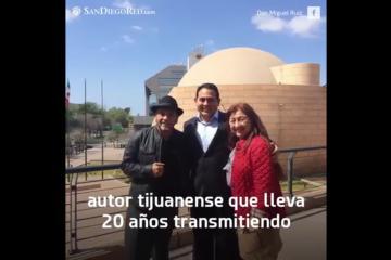"""Don Miguel Ruiz, escritor tijuanense autor de """"Los 4..."""