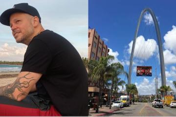 Residente graba su nuevo videoclip en Calle Sexta de Tijuana
