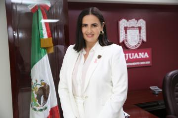 Karla Ruiz Macfarland leaves Tijuanas Mayors Office this Wednesday