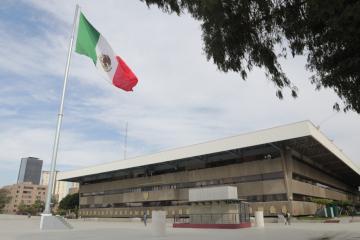 Desalojan Palacio Municipal por amenaza de bomba en las instalaciones
