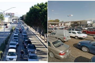Tijuana-San Diego border crossings register 5 hours of queues for...
