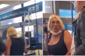 VIDEO: Captan a Laura León haciendo compras Ross de Los Ángeles