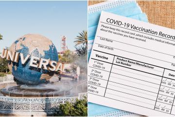 Universal Studios pedirá comprobante de vacunación a mayores de...