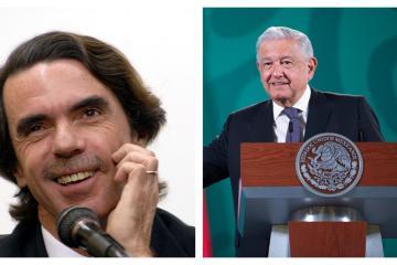 Aznar se burla sobre la petición de perdón de AMLO por abusos de...