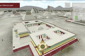 Ahora puedes recorrer la Ciudad de Tenochtitlan virtualmente