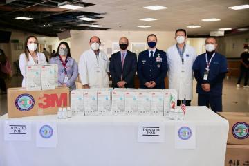 Consulado de Estados Unidos dona equipo médico a Hospital General...