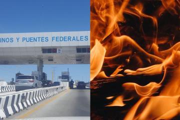 Incendio forestal en la carretera Tijuana- Mexicali provoca cierre...