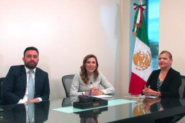 Marina del Pilar, gobernadora electa de Baja California nombra a su...