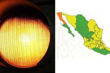 Baja California will remain under the yellow traffic light