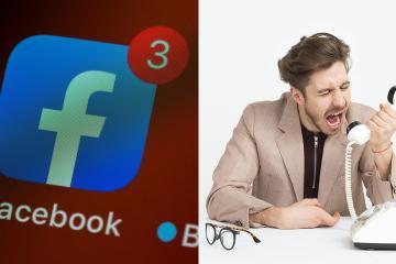 ¡Pánico en redes! En EEUU llaman al 911 por caída de Facebook,...