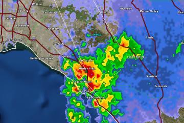 Continuarán lluvias en la región Tijuana-San Diego hasta este...
