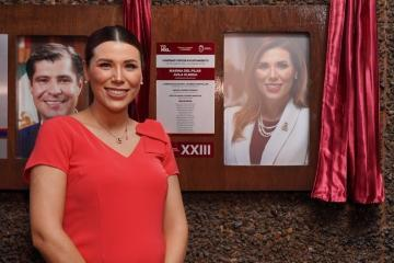 Gobernadora electa Marina del Pilar recibe homenaje por su trabajo...