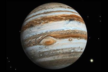 Así luce Júpiter en la más reciente fotografía tomada por la NASA