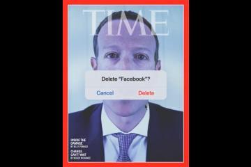 Revista TIME recomienda borrar Facebook en su nueva portada