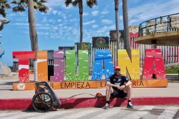 """""""Forrest Gump"""" alemán corrió desde Tijuana hasta Acapulco en..."""