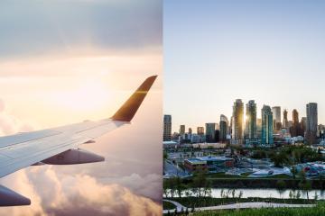 Se reanudan los vuelos directos de San Diego  a Canadá
