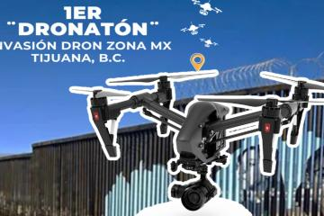 Realizarán concurso de drones en Tijuana promoviendo murales...