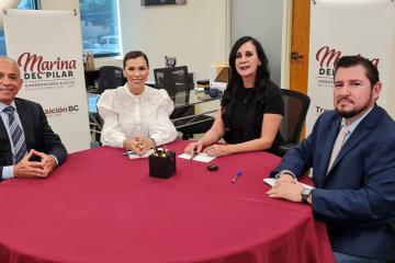 Governor-elect Marina del Pilar announces new heads of Economy,...
