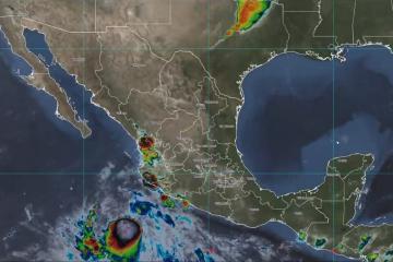 Baja California Peninsula in alert for Tropical Storm Pamela
