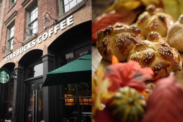 Viralizan precios elevados de pan de muerto en Starbucks de México