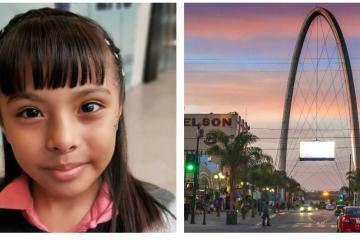 Niña genio mexicana con IQ superior al de Einstein visita Tijuana