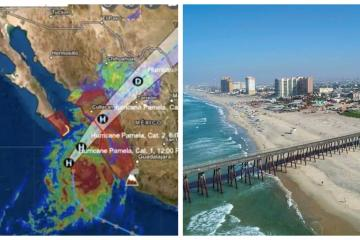 Tropical Storm Pamela causes closure of ports in Rosarito and San...