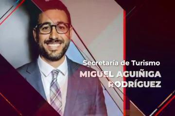 Miguel Aguiña Rodríguez es nombrado secretario de turismo
