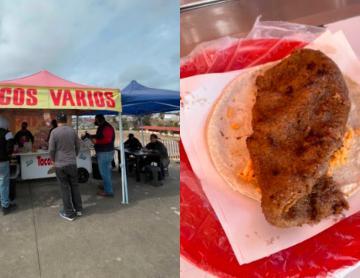 "One Bite Tacos Tijuana: Tacos varios ""La Nena"" stands out..."