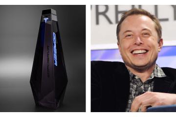 Elon Musk presenta la nueva cerveza de Tesla, inspirada en Cybertruck