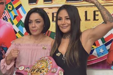 "Jackie Nava peleará contra ""Barbie"" Juárez en Tijuana"