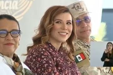 Marina del Pilar recibe el apoyo de AMLO
