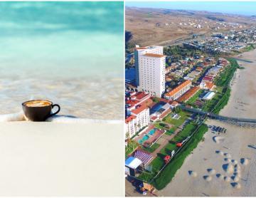 """Expo """"Café en el Mar"""" will arrive at the Rosarito Beach..."""