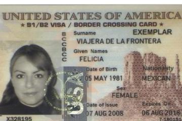 Solo hay citas para renovar visas de Estados Unidos hasta finales...