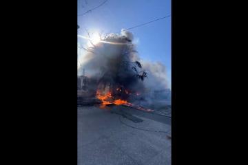Tijuana registra incendio en Recicladora de Papel y Cartón, S.A
