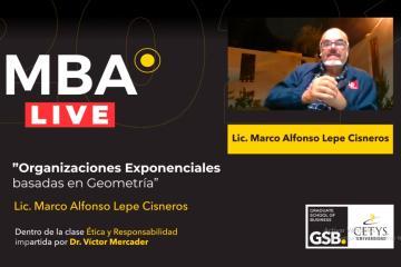 Conferencia impartida por el Lic. Marco Alfonso Lepe Cisneros