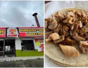 "One Bite Tacos Tijuana: Taqueria ""El Costeñito"" has a..."