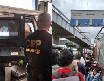 Thermal body scanning at Tijuana - San Diego border crossings